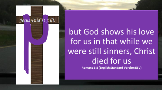 while we were sinners