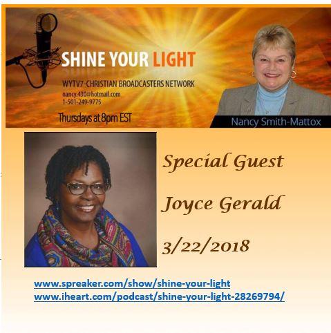 Show #61 - Joyce Gerald (1)