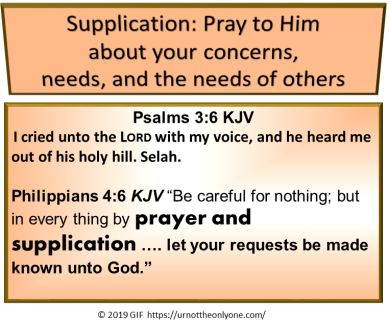supplication