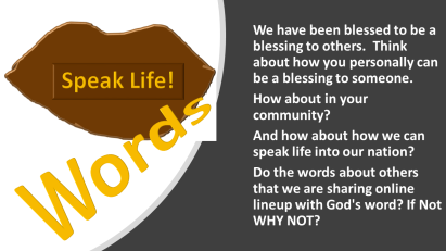 Words Can Heal or Kill  Speak Life! | You Are Not the Only