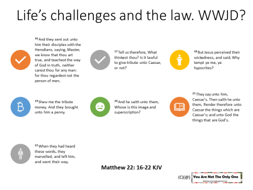 Lifes challenges and the law