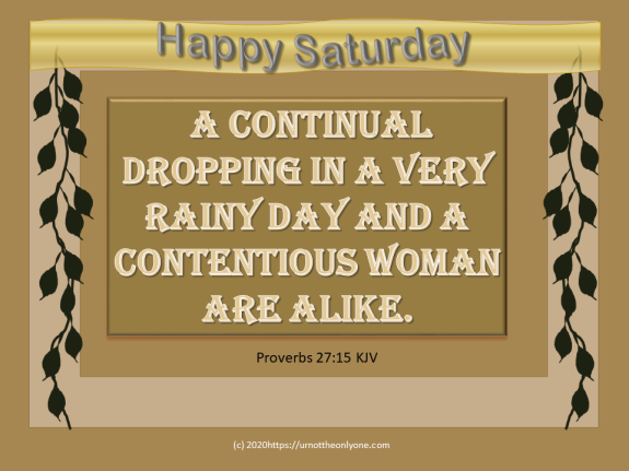 a continual dripping proverbs