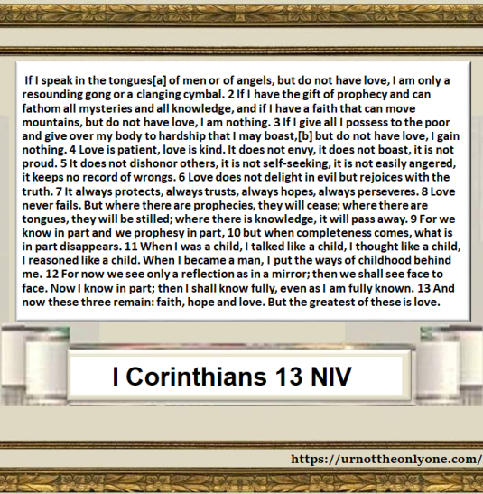 icorinthians 13 january 2