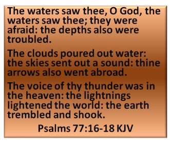 psalms 77 13 TO 15