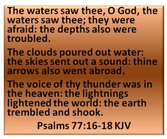 psalms 77 13 TO 15