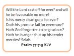 psalms 77 7-9