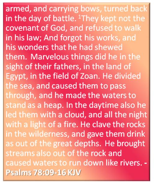 verses 9 to 16